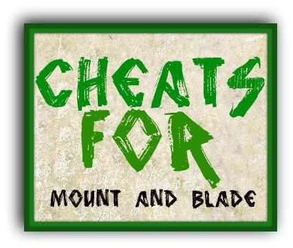 Чит Коды Для Mount And Blade Огнем И Мечом