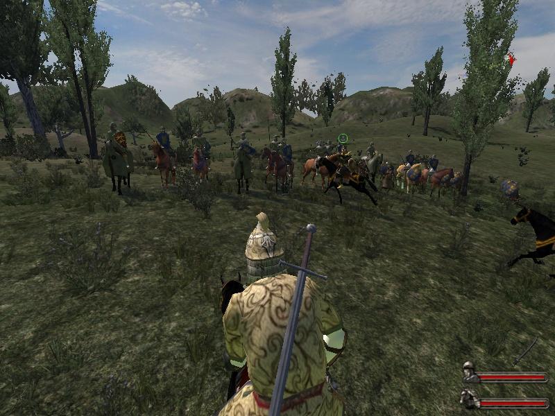 Сценах и диалогах. Новые лошади, вещи, оружие. Есть На Warband 1.…