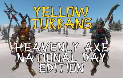 MOD Yellow Turbans Heavenly Axe National Day Edition