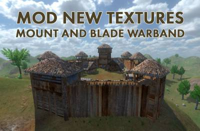 NEW TEXTURES MOUNT AND BLADE WARBAND