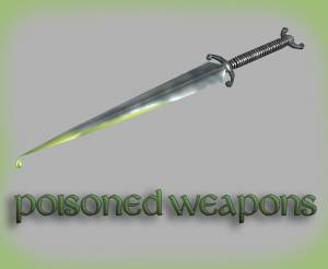 Poisoned weapons