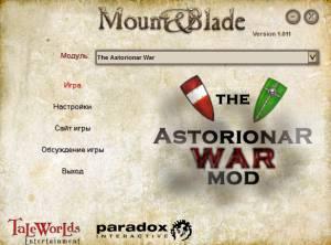 The Astorionar War Mod