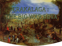 MOD Crakalaga : The Big War BETA