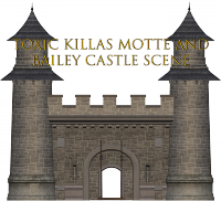 MOD Toxic Killa's Motte and Bailey castle scene.