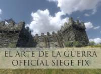 MOD El Arte De La Guerra 'Official' Siege Fix