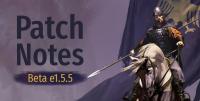 Beta Patch Notes e1.5.5