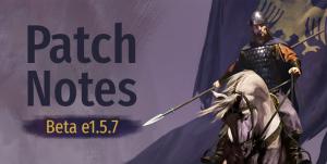 Beta Patch Notes e1.5.7